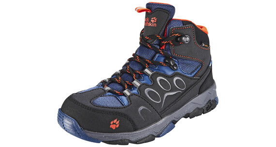 Jack Wolfskin MTN Attack 2 Texapore Mid Hiking Shoes Kids dark satsuma